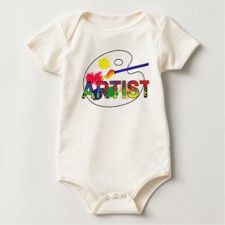 Artist Pallet Baby Bodysuit