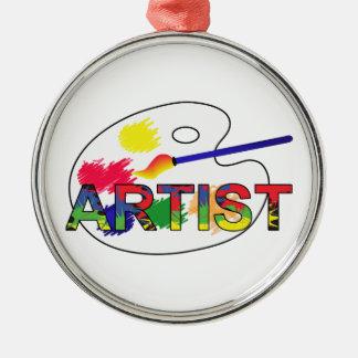 Artist Pallet Metal Ornament