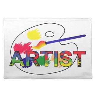 Artist Pallet Placemat