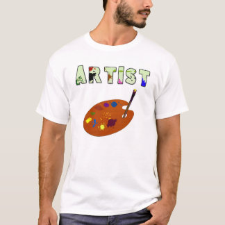 Artist Pallette Dark Kids T-Shirt