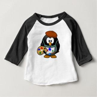 Artist penguin baby T-Shirt