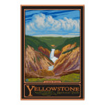 Artist Point - Yellowstone Nat'l Park Posters