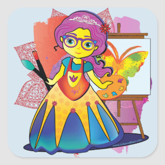 Artist Princess Stickers