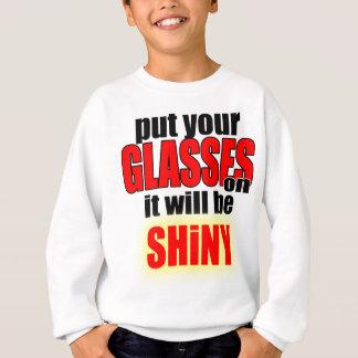 artist style put your glasses fashion mode cool ki sweatshirt