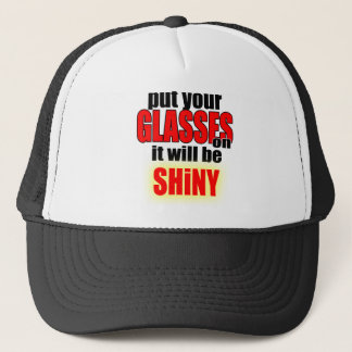 artist style put your glasses fashion mode cool ki trucker hat