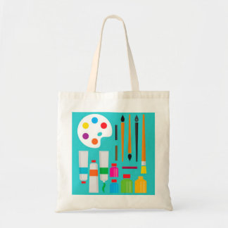 Artist Supplies Design tote bag