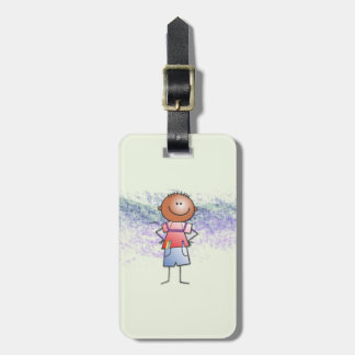 artist-to-be bag tag