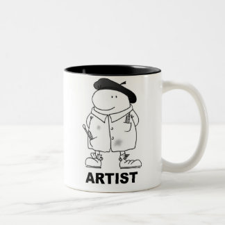 ARTIST Two-Tone COFFEE MUG