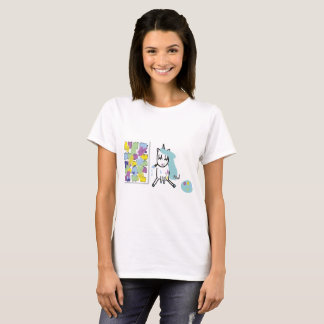 Artist unicorn - Tshirt