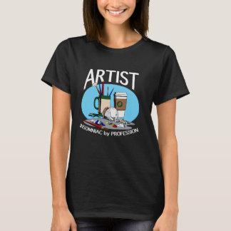Artiste : Insomniac par la profession (foncée) T-shirt