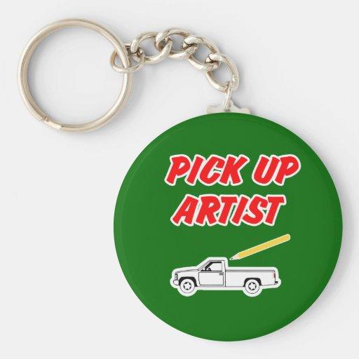 Artiste Keychain de collecte Porte-clefs