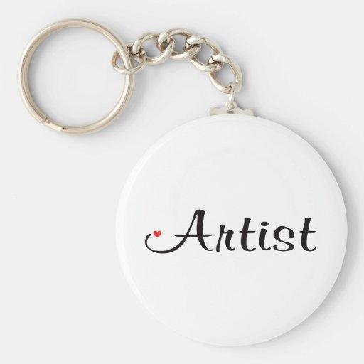 Artiste Porte-clefs
