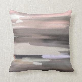 Artistic Abstract Cotton Throw Pillow