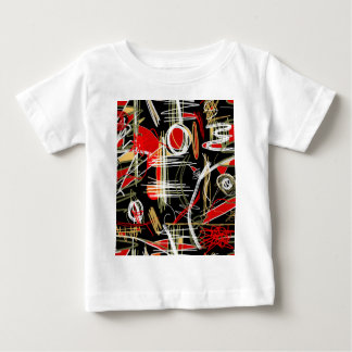 Artistic abstract pattern baby T-Shirt