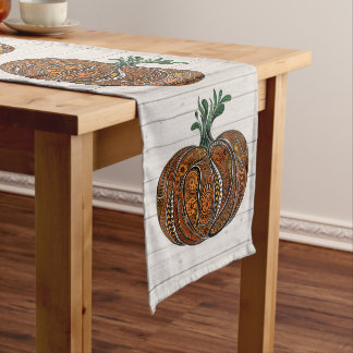 Artistic All Season Pumpkin Lg Table Runner 1