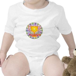 Artistic AWARD : Text CONGRATULATIONS Shirts