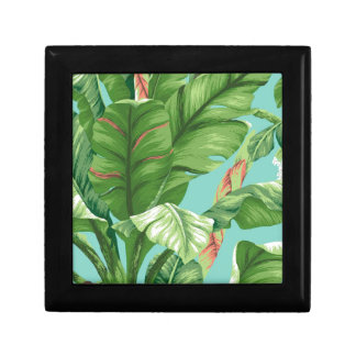 Artistic Banana Leaf & flower watercolor painting Gift Box