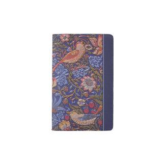 artistic birds pocket moleskine notebook