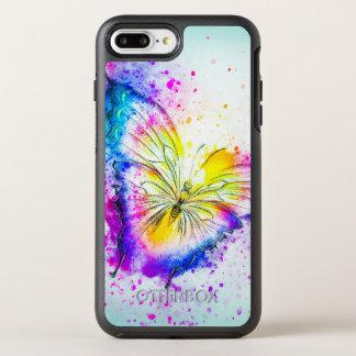 Artistic Butterfly Design OtterBox Symmetry iPhone 8 Plus/7 Plus Case