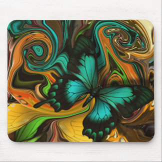 Artistic Butterfly. Mouse Pad