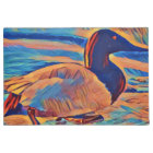 Artistic Canvasback Duck Photo Painting Doormat