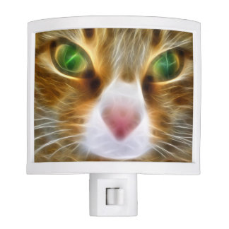 Artistic Cat Night Light