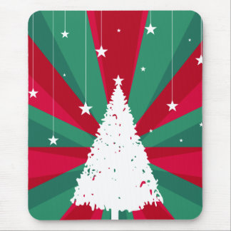 Artistic Christmas Tree Mouse Pad