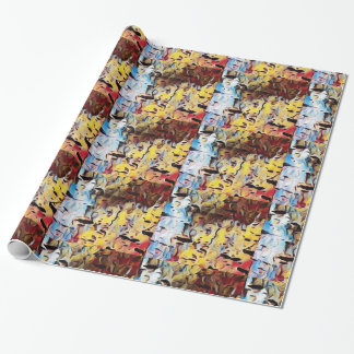 Artistic Colorful Wrapping Paper