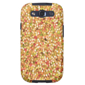 Artistic Confetti Template DIY Add Text IMG gifts Galaxy S3 Cover