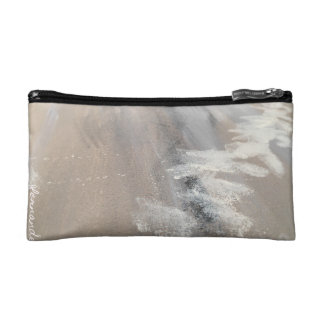 Artistic cosmetic bag