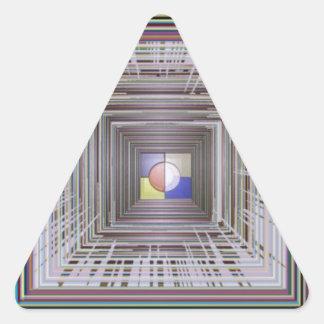 ARTISTIC Cosmic Infinity ART Light end of Tunnel Sticker