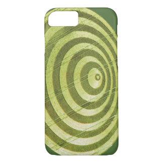 Artistic Crop Circle iPhone 7 Case
