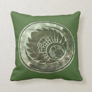 Artistic Crop Circle Throw Pillow