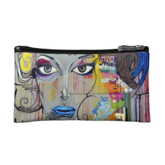 Artistic design cosmetic bag