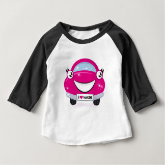 ARTISTIC DESIGNERS TSHIRT WITH PINK CAR