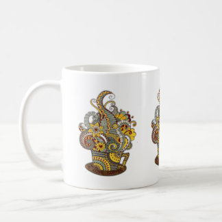 Artistic-doodle-drawing art coffee mug