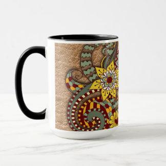 Artistic-doodle-drawing art mug