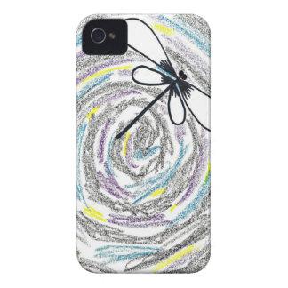 Artistic Dragonfly Blackberry Case