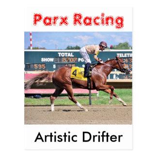 Artistic Drifter - Frankie Pennington Postcard