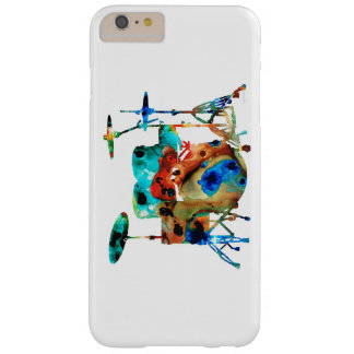 Artistic Drum set Barely There iPhone 6 Plus Case