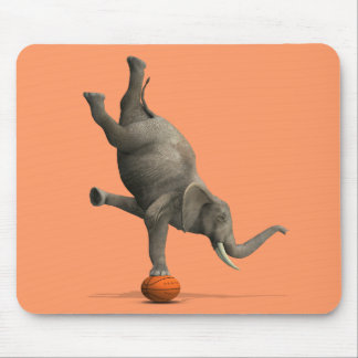 Artistic Elephant Mouse Pad