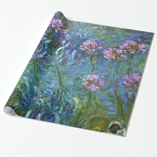 Artistic Fine Art Flowers by Monet