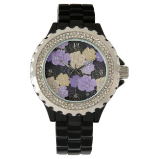 Artistic Floral Blooms Watch