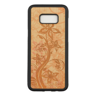 Artistic Floral Design Carved Samsung Galaxy S8+ Case