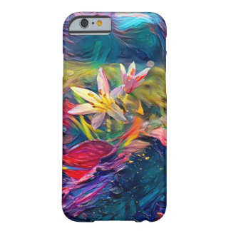 Artistic Flower Barely There iPhone 6 Case