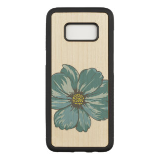 Artistic Flower Design Carved Samsung Galaxy S8 Case