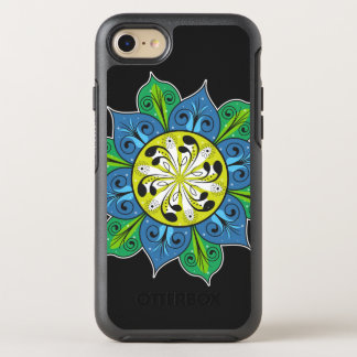 Artistic Flower Pattern OtterBox Symmetry iPhone 7 Case