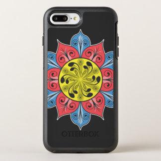 Artistic Flower Pattern OtterBox Symmetry iPhone 7 Plus Case