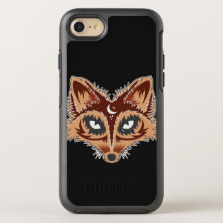 Artistic Fox Illustration OtterBox Symmetry iPhone 7 Case