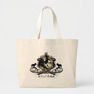 Artistic French Bulldog Dog Breed Tote bag